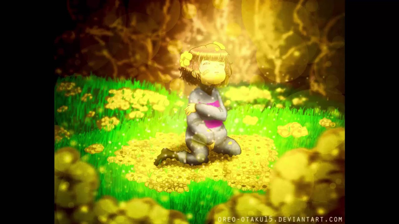 Falling Down Flowers Wallpaper Undertale Fallen Down Reprise Dual Mix Youtube