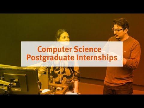 Computer Science Postgraduate Internships