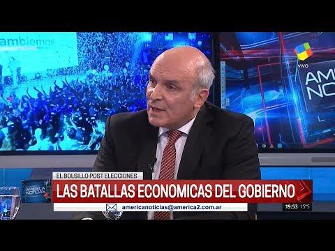 José Luis Espert en América noticias de Andino, Gutiérrez y Graña por América el 14 de Agosto del 17