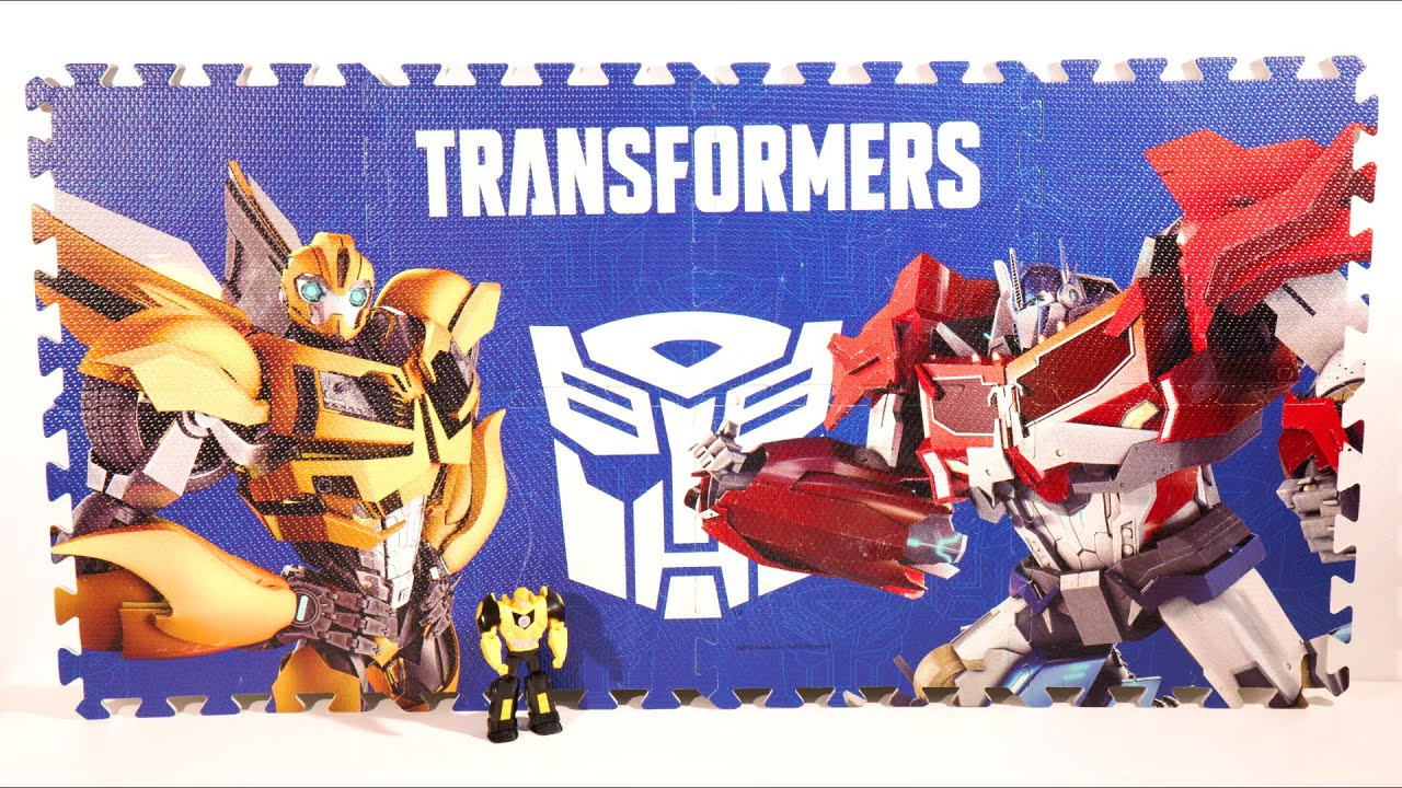 Tatame tapete transformers bumblebee optimus prime autobots tatami eva youtube - Transformers tapete ...