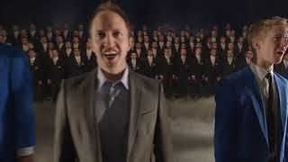 Nearer My God to Thee - BYU Vocal Point & BYU Men's Chorus, Remixed