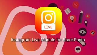 Instagram Live Module for StackPosts (OBS)