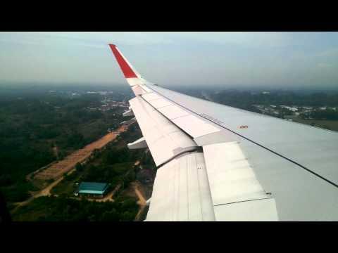[LANDING] Airasia Bangkok(DMK) to Hatyai(HDY) @Hatyai airport FULLHD