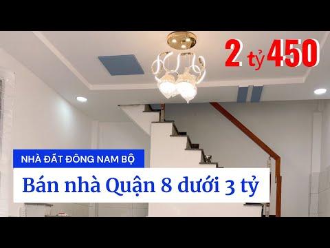 Chính Chủ bán nhà Quận 8 dưới 3 tỷ, hẻm 801 Phạm Thế Hiển, gần chợ Phạm Thế Hiển