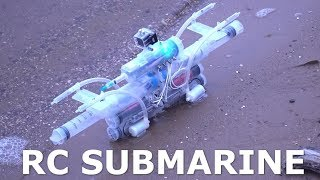 как сделать мини подводную лодку
