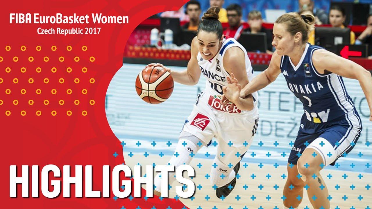 France v Slovak Republic - Highlights - Quarter-Finals - FIBA EuroBasket Women 2017