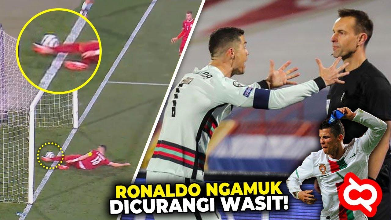 Jelas Gol Kok Malah Dianulir?! Keputusan Wasit Paling Kontroversial Terhadap Christiano Ronaldo