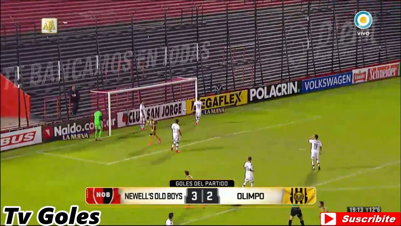 Newells Old Boys 3-2 Olimpo Bahia Blanca