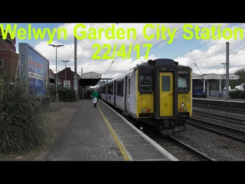Welwyn Garden City Station 22/4/17 Series 37 Episode 70