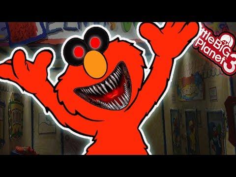 LittleBigPlanet3 | *EVIL* Elmo - Captain Tate's Clubhouse