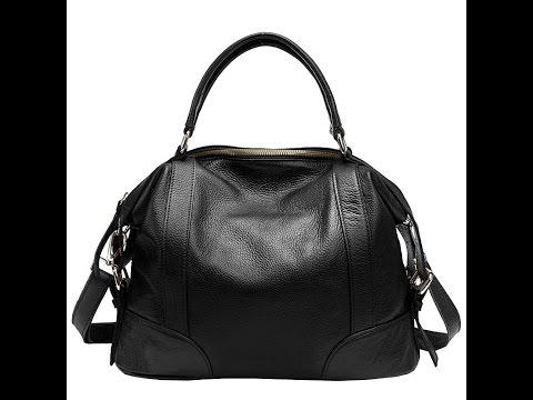 100% Кожаная женская сумка! Великолепного Качества!