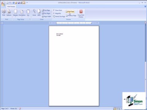 how to make table fit one page in word