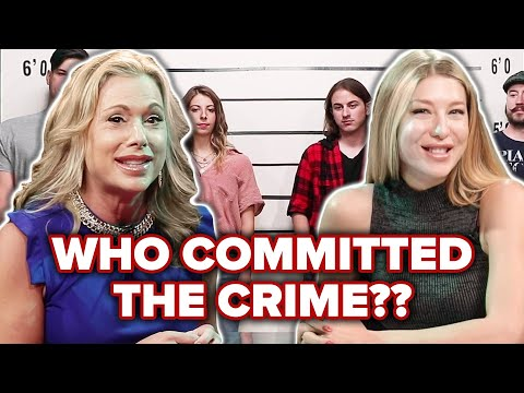 Private Investigator Vs Psychic Guess Who Committed The Crime Out Of A Lineup