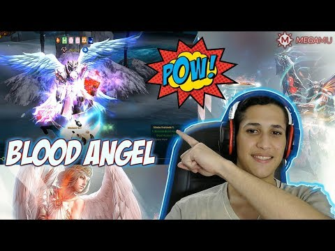 MEGAMU Mu Online - CRIANDO SET  BLOOD ANGEL [SET TOP]