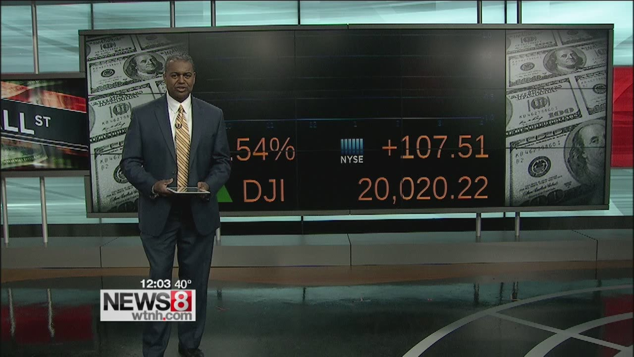 Dow Hits Another Record High at Open as Tech Stocks Bounce