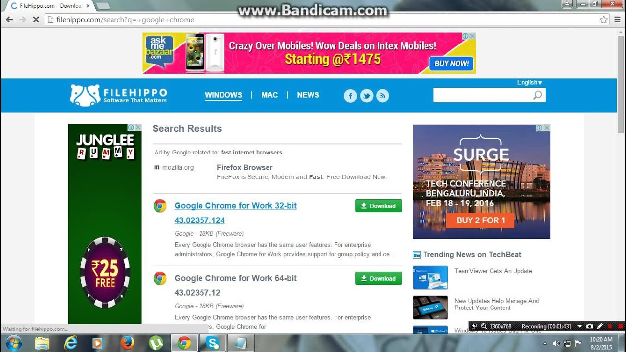 how to download google chrome on 32bit