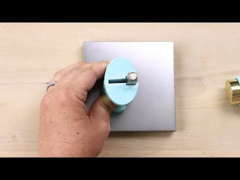 How to Use ImpressArt's Simple Strike Jig for Metal Stamping