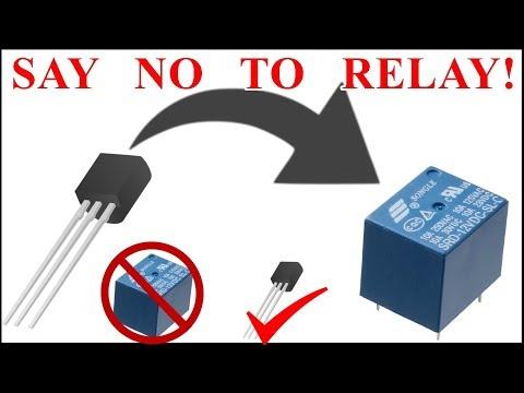 Micro-gap relay switch μ