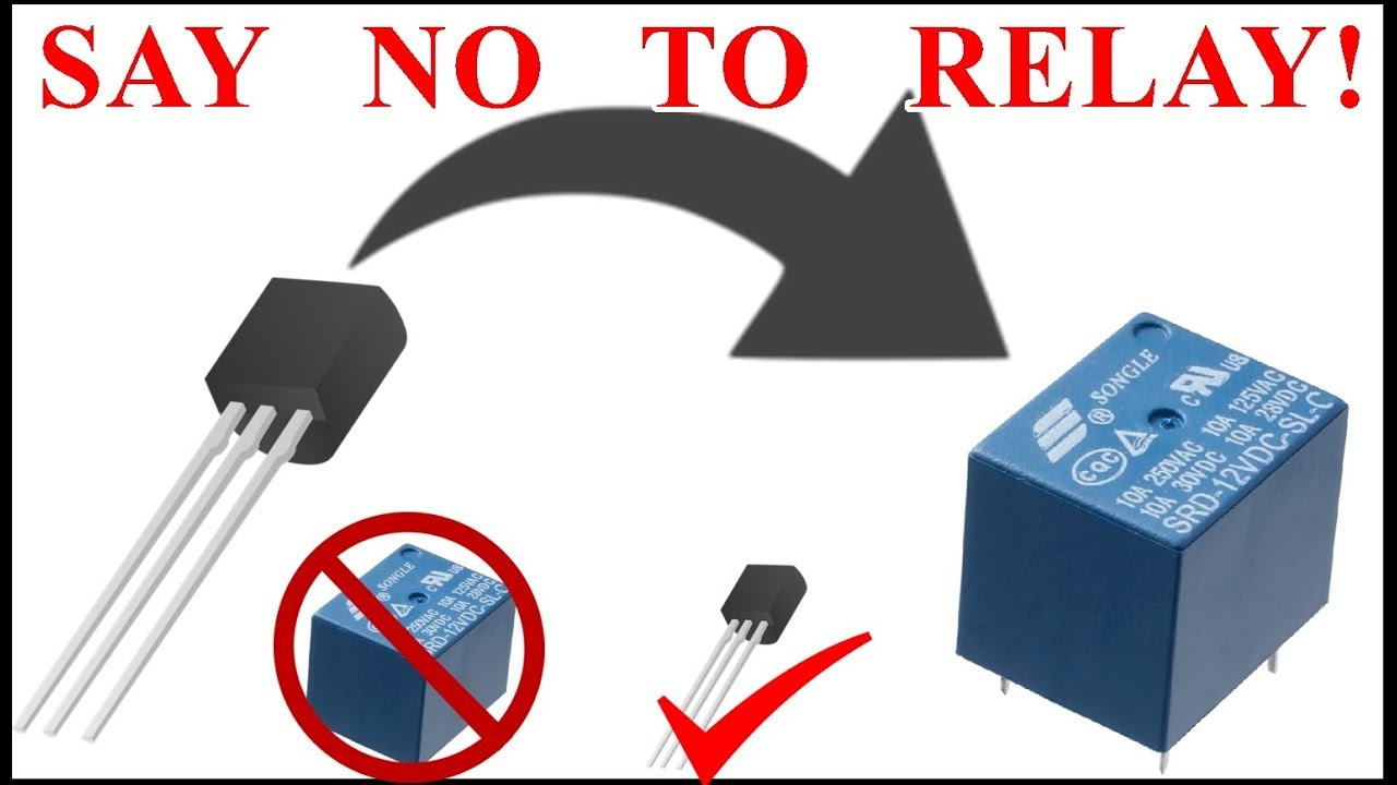 How To Use Transistor As Relay Npn Dc Switch Best Circuit Arduino Alternate For