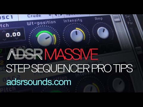 Step Sequencer Pro Tips - NI Massive