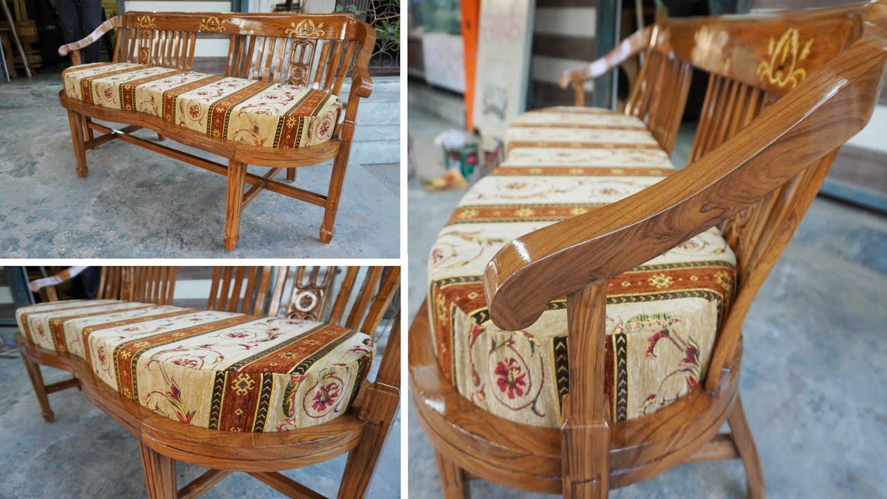 Modern Wooden SOFA DESIGN Ideas - Luxury Wooden Sofa set Design ideas 2020
