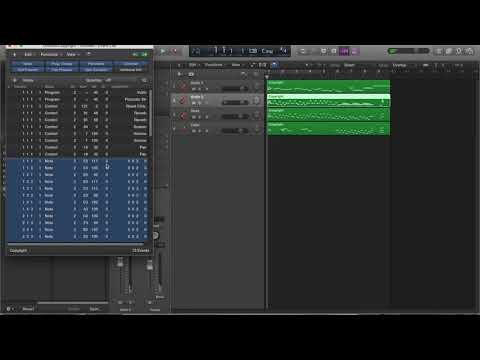 MUTC 101 - Unit 2 - Using Sibelius and Logic (Mac OS) to create a virtual instrument realization