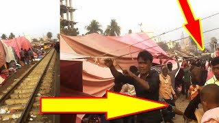 ►Is It Dangerous Buy-Sell Clothing Market? Where Covered Total Rail Line After Passing The Train