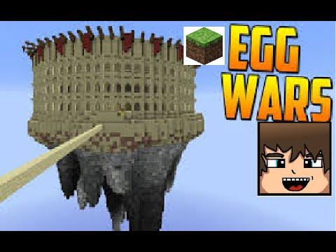 Minecraft Egg Wars SÅ LÅNGT GAME; HACKER I MITT TEAM