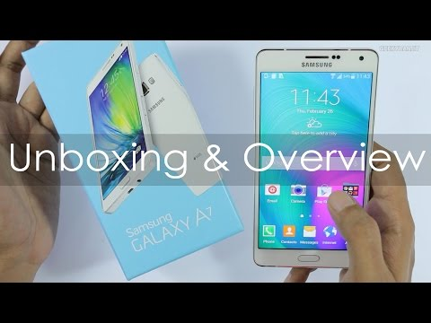 Samsung Galaxy A7 Unboxing & Hands On Overview