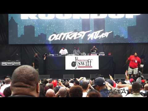 Killer Mike and Bone Crusher Live Concert Outkast #ATLast Atlanta 2014