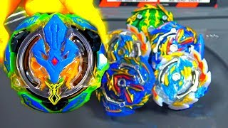 Tide Treptune VS All Beyblade Burst GT | SHOCK ABSORPTION