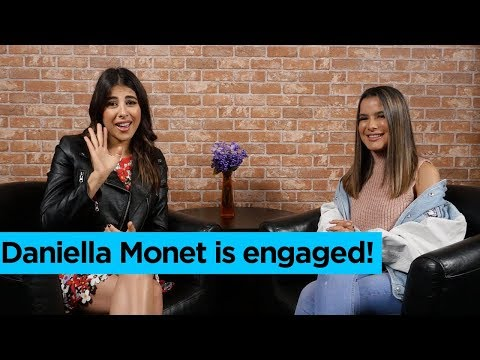Daniella Monet talks about her engagement!  lalaTV