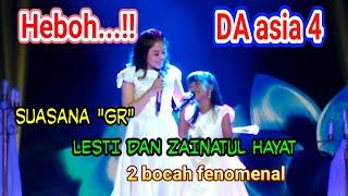 Kehebohan  Duet Lesti Dan Zainatul Hayat Ina  .. Di Saat Rehearsel Gr ..