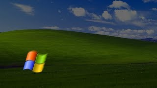 what happen when windows xp logo hits the corner !!