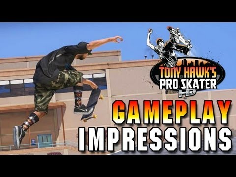 Tony Hawk HD Gameplay! Play as your Avatar, blow up your head, and more!
