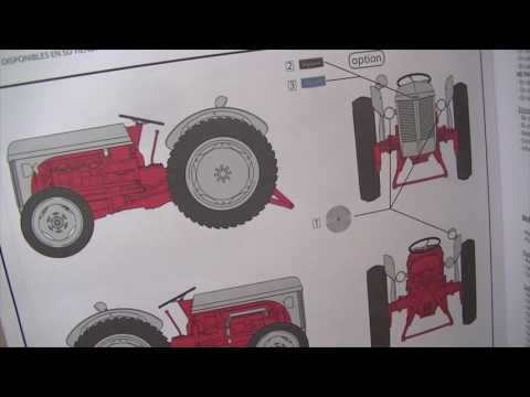 ep145 - build/review of the heller 1/24 ferguson te-20 tractor, pt 1