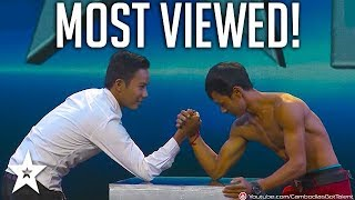 TOP 6 MOST VIEWED Auditions on Cambodia's Got Talent | Got Talent Global