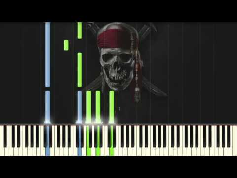 The Medallion Calls [EASY] - Pirates of the Caribbean - Piano tutorial (Synthesia)