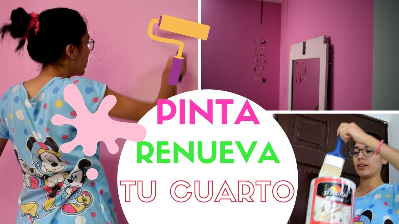 Como pintar tu habitaci n y remodelar en minutos pintar for Como remodelar tu habitacion