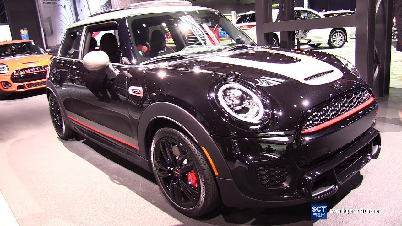 2019 Mini John Cooper Works Knights Edition Exterior Interior