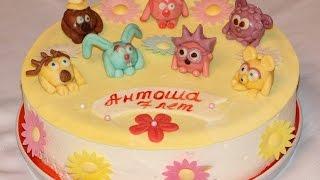 VLOG: готовимся к 23 февраля (ДР Антоши): торт со смешариками, праздничный стол, подарки и др.
