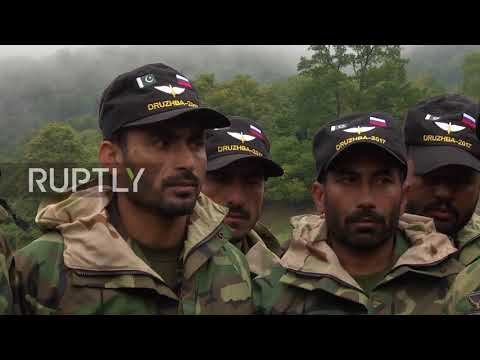Russia: Joint Russian-Pakistani military exercises in Karachay-Cherkessia