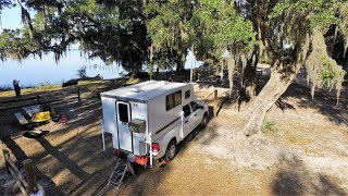 Wintering in Florida -  Beautiful Free Campground