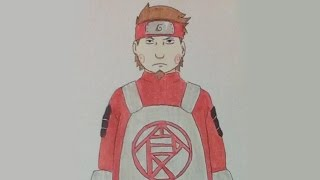 DRAWING CHOJI AKIMICHI FROM THE LAST:NARUTO THE MOVIE