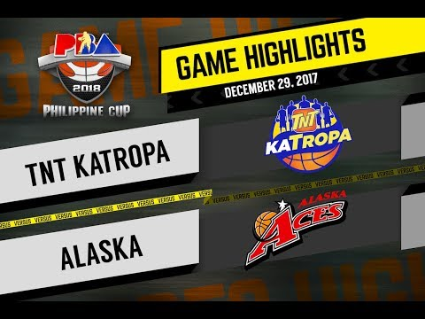PBA Philippine Cup 2018 Highlights: TNT vs. Alaska Dec. 29, 2017