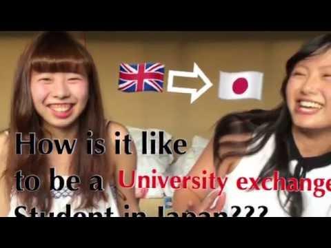 Interview University exchange student in Japan! ❶