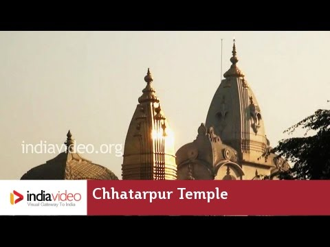 Delhi's Chhatarpur Temple; a quiet place for everyone