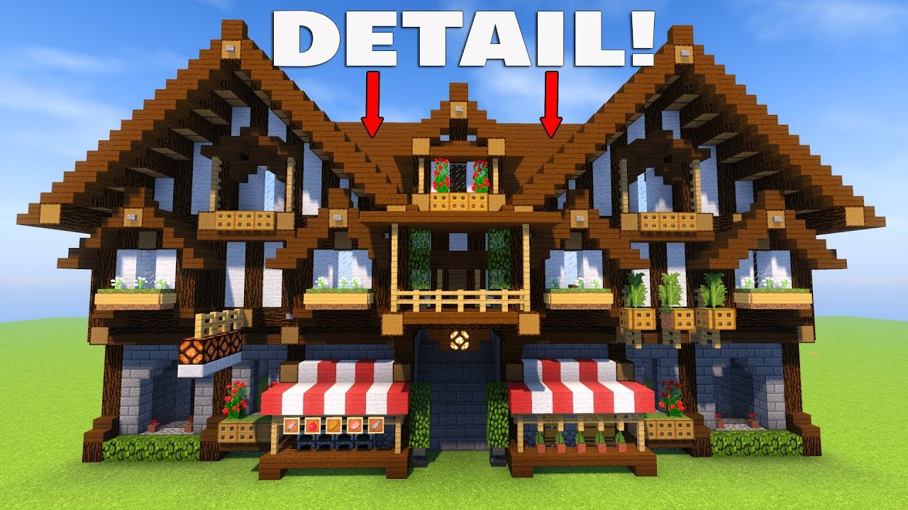 Building Better In Minecraft Easy Tips To Detail Your House Youtube