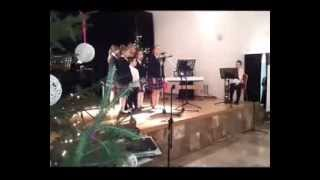 Wigilia Nadleśnictwa Pułtusk 2013 - występ młodzieży ZS nr 4
