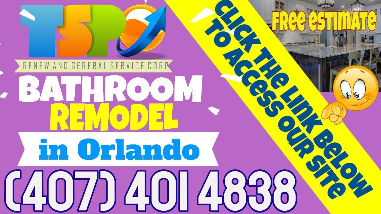 Bathroom Remodel Orlando FL - Find Here Bathroom Remodel ...
